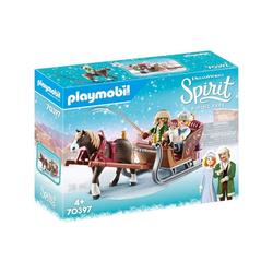Playmobil® Spielwelt PLAYMOBIL® 70397 - Spirit Riding Free - Winterliche Schlittenfahrt
