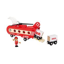 BRIO® Spielzeug-Eisenbahn Eisenbahn-Transporthubschrauber