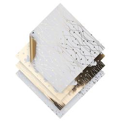 VBS Kraftpapier Gold Foil, 20 cm x 20 cm