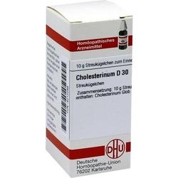 CHOLESTERINUM D 30 Globuli 10 g