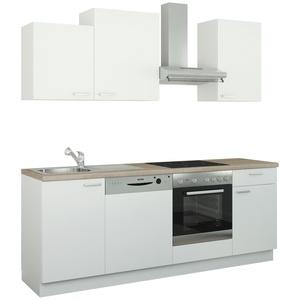 Küchenzeile mit Elektrogeräten  Erfurt ¦ weiß