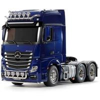 TAMIYA Truck Mercedes-Benz Actros 3363 6x4 Giga Bausatz blau 300056354