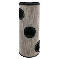 Cat Tower Amado Katzenturm, 100 cm, schwarz