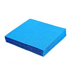 Servietten 33 x 33 cm 1/4-Falz 3-lagig blau, 20 Stk.