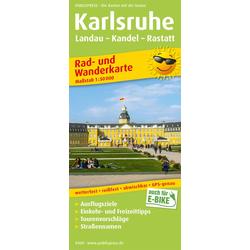 Karlsruhe Landau - Kandel - Rastatt . 1:50 000