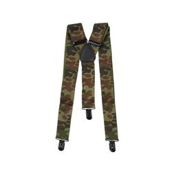 MFH Stretchgürtel BW military Hosenträger flecktarn