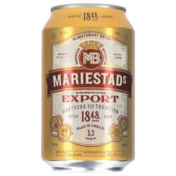 Mariestads Export 5,3% 24 x 0,33 ltr.