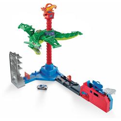 Hot Wheels Autorennbahn Drachen Luftangriff Track-Set, inkl. 1 Spielzeugauto