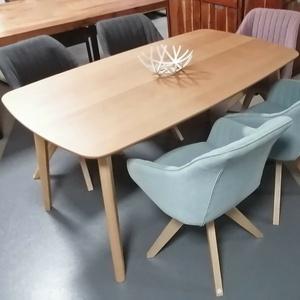 Esstisch Soho Niehoff Tisch Küchentisch Gestell massiv Buche natur 160x90 cm