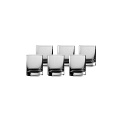 Stölzle Whiskyglas NEW YORK BAR Rocks-Tumbler 250 ml 6er Set (6-tlg)