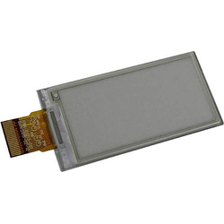 Display Elektronik LCD-Display Schwarz Weiß (B x H x T) 29.2 x 59.2 x 1.05mm E-Paper Display