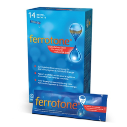 FERROTONE Eisen Beutel 14X20 ml