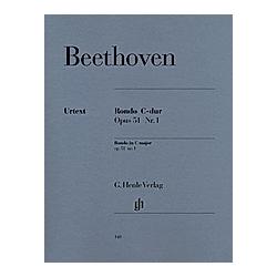 Rondo C-Dur op.51 1  Klavier. Ludwig van - Rondo C-dur op. 51 Nr. 1 Beethoven  - Buch