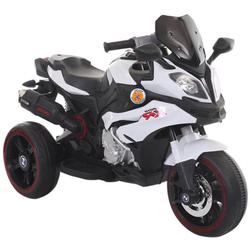 Elektrisches Motorrad Biker Spielzeug Power White