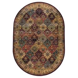 Bordürenteppich Gabiro Des.208 (Rot; 160 x 235 cm)
