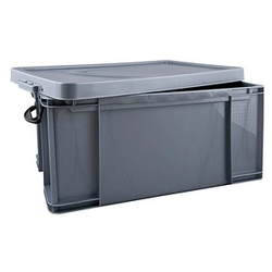 Really Useful Box Aufbewahrungsbox 64,0 l silber 71,0 x 44,0 x 31,0 cm