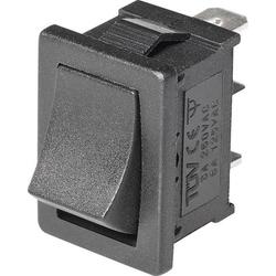 Wippschalter Mini-Wippenschalter MRS-102-C 1xUm 1St.