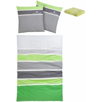 Renforcé grün 135 x 200 cm + 80 x 80 cm