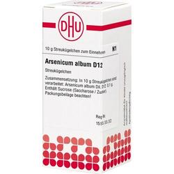 ARSENICUM ALBUM D 12 Globuli 10 g