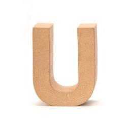 VBS Deko-Buchstaben Papp-Buchstabe, 17,5 cm hoch 13.5 cm x 17.5 cm x 5.5 cm