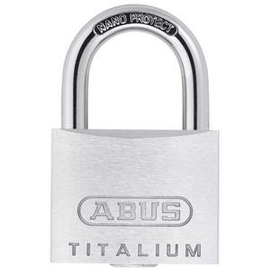 ABUS Vorhängeschloss 64 TITALIUM 64TI/20 gleichschließend
