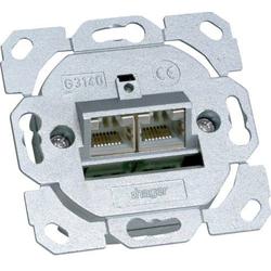 Hager Netzwerkdose Unterputz Einsatz CAT 6a