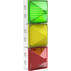 Pfannenberg Signalampel QUADRO-LED-TL RD YE GN HV 230 V/AC