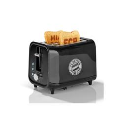 FC Bayern Toaster, mit Soundfunktion und FCB-Logo