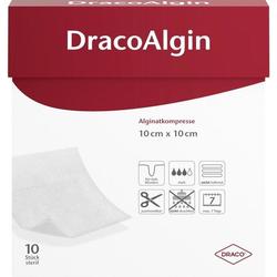 DracoAlgin 10x10cm Alginat Wundauflage