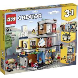 31097 LEGO® CREATOR Stadthaus mit Zoohandlung & Café