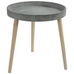 Dehner Beistelltisch Beistelltisch Coby, Ø 45 cm, Höhe 48 cm, Holz