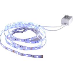 LeuchtenDirekt Teania 81215-70 LED-Streifen-Komplettset mit Stecker 12V 5m