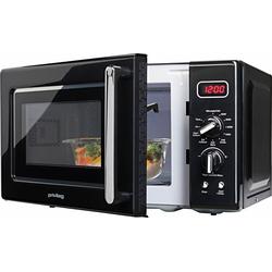 Privileg Mikrowelle 364354, Grill, 20 l, im Retro-Design, 8 Automatikprogramme