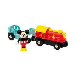 BRIO® Spielzeug-Eisenbahn Batteriebetriebener Micky Maus Zug