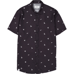 Makia - Ana SS Shirt Dark Blue - Hemden - Größe: M