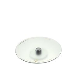 LEONARDO Tortenplatte Tortenplatte 35 cm weiß Herz EMOZIONE, Glas, (1-tlg)