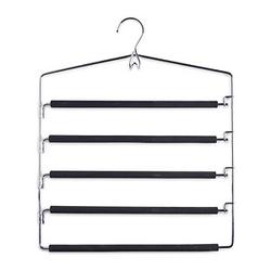 Zeller Metall Kleiderbügel schwarz