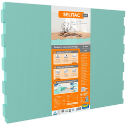 Selit Trittschalldämmplatte SELITAC, 5 mm, 5 m², für Parkett-/Laminatböden, faltbar
