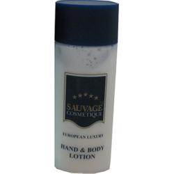 Sauvage Hotelkosmetik aus der Flasche, Hand & Body Lotion, 1 Karton = 300 x 30 ml - Flaschen
