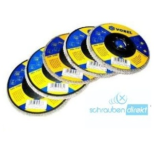 Yato 07985 – Flap Disc P60 125 mm