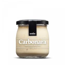 Sugo carbonara, Carbonara-Sauce ohne Eier, 170 g - Ursini