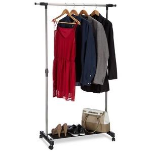 relaxdays Kleiderständer Kleiderständer auf Rollen