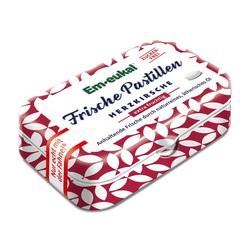 EM EUKAL Frische Pastillen Herzkirsche zuckerfrei 20 g