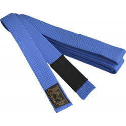 BJJ Gürtel blau, schwarzer Balken (Größe: 280, Farbe: Blau)