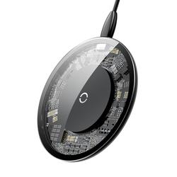Baseus Glass Wireless Charger Qi Universal Schwarz