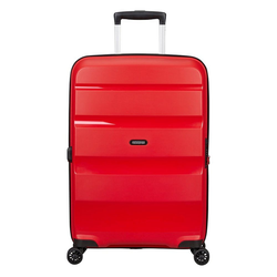 American Tourister® Trolley Bon Air DLX 4-Rollen-Trolley M 66/24 cm erw., 4 Rollen rot