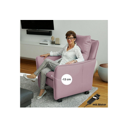 PLACE TO BE. Relaxsessel, Relaxsessel Insideout Wheels small - 13 cm schmaler rosa