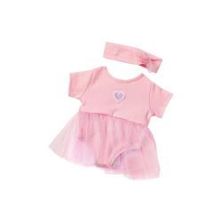 Emil Schwenk Puppenkleidung Puppenkleidung Ballerina-Anzug Pink, 43 cm