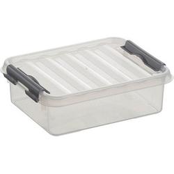 sunware Q-line Aufbewahrungsbox 1,0 l transparent 20,0 x 15,0 x 6,0 cm