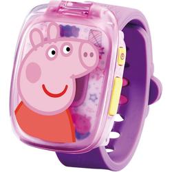 Vtech® Lernspielzeug Peppas Lernuhr pink
